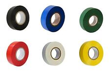 6 ROLLS OF MIX COLOUR ELECTRICAL PVC INSULATION INSULATING TAPE  - UK SELLER