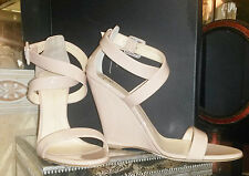 Rose Pink Giuseppe Zanotti 37 Taline Patent Leather Sandals NWT with box