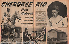 Will Rogers - The Cherokee Kid From Oologah; Names: Autry,Buffalo Bill, Geronimo