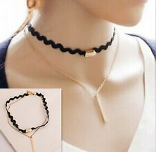 Charm Statement Hot Jewelry Chain Choker Necklace Bib Women Pendant Chunky