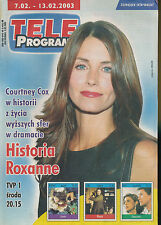 TELE PROGRAM 2003/06 (7/2/2003) COURTNEY COX