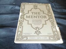 Vintage Mentor - The Conquest of Air April 1, 1914- Balloon,Zeppelin,Airplane