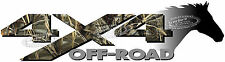 4x4 Off Road MAX CAMO Horse Head Camouflage TRUCK Decal/Sticker CHEVY DODGE FORD