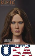 KUMIK 1/6 Jennifer Aniston Head Sculpt For Hot Toys Phicen Body - U.S.A. SELLER