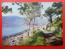 POSTCARD ROSS & CROMARTY APPLECROSS VILLAGE WESTER ROSS