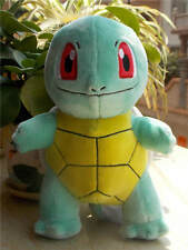 """New 7"""" Pokemon PIKACHU Squirtle Q cute soft plush toy Figure Collectible PC"""