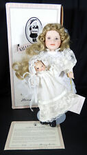 WENDY LAWTON PORCELAIN DOLL DOLLY SUNDAY BEST COLLECTIONW/ BYE-LO BABY 14""