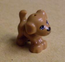 Lego Hund - kleiner brauner Hund mit Gesicht, Dog, small, cute, süß - Neu