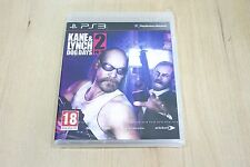 Kane & Lynch 2: Dog Days - Playstation 3 - PS3 UK Pal New Factory Sealed