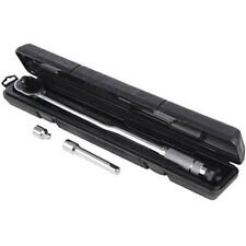 "Professional Torque Wrench Ratchet 28-210NM  with 3/8"" Adaptor & Case"