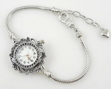 Fashion Watch Charm Bracelet Fit European Bead 20cm WN1