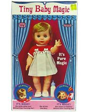 Vintage Topper Deluxe Reading Tiny Baby Magic Doll Winking & Wetting MIB w/Box