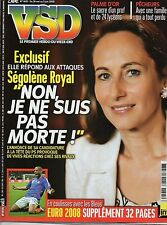 VSD N°1605 segolene royal les bleus marie jose perec 2008