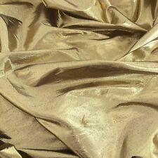 Tissue Lame Fabric Shiny Gold for Craft Decoration Costume Design 44'' Wide BTY