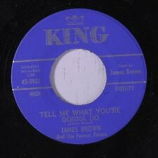 "JAMES BROWN: Tell Me What You're Gonna Do / I Don't Care 45  Soul-7""and Single G"