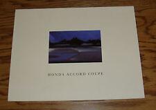 Original 1990 Honda Accord Coupe Sales Brochure 90 DX LX EX