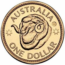 2011 $1 RAMS BRISBANE B COUNTERSTAMP COUNTER STAMP COIN