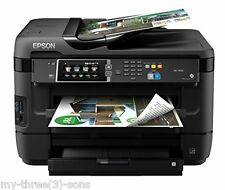 *New* Epson WorkForce WF-7620 All-in-One Inkjet Printer ** FREE SHIPPING **