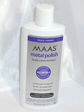 Maas International 8 Ounce Liquid Metal Polish Silver Brass New Free Shipping