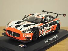LEO SWISS TEAM MASERATI GRAN TURISMO MC GT3 PIER GUIDI CAR MODEL HD18 1:43