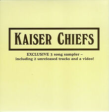 KAISER CHIEFS - EXCLUSIVE 3-SONG SAMPLER - RUBY VIDEO (2007) New Sealed Promo CD