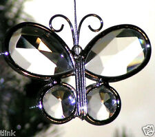 Butterfly Glass Jewel Collectible SunCatcher Ornament