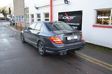 Mercedes W204 C Class Quad Exhaust C250 C230 C300 C350 & Diffuser 2011+ Models