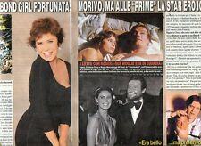 SP79 Clipping-Ritaglio 2015 Corinne Clery Fui una bond girl fortunata..