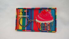 Dylans Candy Bar Keychain Cupcake Collectbles Sweets Lollipop Colorful Pink Red