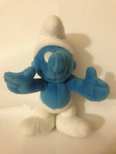 8'' SMURF PLUSH SOFT TOY - PEYO 1999 TRUDI Spa ITALY - VERY GOOD CLEAN CONDITION