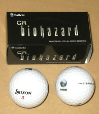 Resident evil Biohazard Cr promotional Pachislot Pachinko Daiichi Golf Ball Set