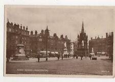 Albert Square Manchester 1931 RP Postcard 122a