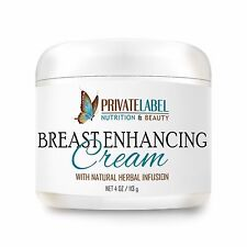 Organic Breast Enhancement Cream 4oz Natural Bust Enhancement Cream