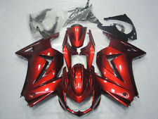 Red Injection Fairing For Kawasaki EX250 Ninja 250R Bodywork 2008-2012 09 10 11