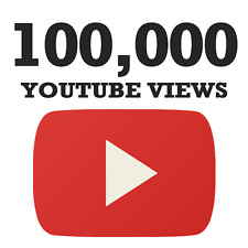 HQ - 100k - 100,000 YouTube views [Fast delivery]