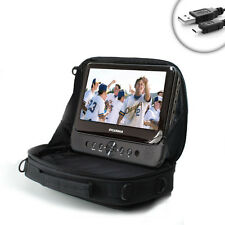 """USA Gear 7-10"""" Sturdy In-Car Viewing Case for 7-inch Portable DVD Players"""