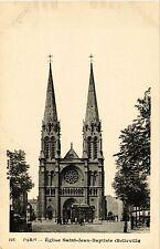 CPA PARIS 19e - Eglise de St-Jean-Baptiste de Belleville (301970)