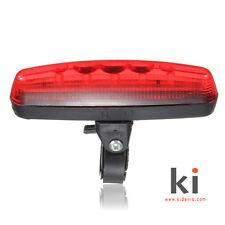 Luz trasera de posición de led roja para bicicletas