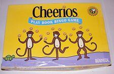 1999 Cheerios Play Book Bingo Game