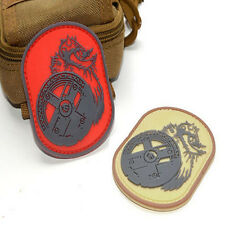 2 PC BERSERKER BARBARIAN PVC PHOENIX TACTICAL AIRSOFT 3D PVC RUBBER VELCRO PATCH