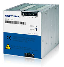 New DIN rail DC24V  20A power supply can replace Siemens 6EP1 336-3BA00