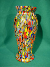 Antique Czechoslovakia Vase *In Style of End of Day*