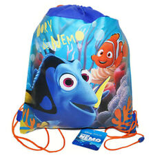 6 Disney FINDING DORY NEMO Kids Sling Bag Tote Backpack BIRTHDAY PARTY FAVORS