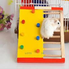 Wooden Colorful Funny Climbing Ladder Play Toy for Pet Rat Hamsters Small Animal