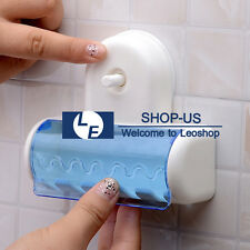 New Suction Plastic Stand Grip Wall Mount 5 Toothbrush Holder Home Bathroom Tool