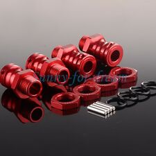 17MM Wheel Hex Enhanced Mount Drive Adaptor 23MM Thickness 89108 HSP 1/8 Red