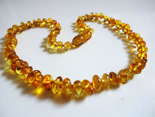 Honey Natural Beads Baltic Amber Baby Necklace 12inch