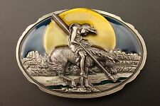 End of the Trail Belt Buckle 1989 Arroyo Grande Buckle Co./ Made in the USA AG38