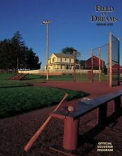 FIELD OF DREAMS OFFICIAL SOUVENIR PROGRAM BOOK 25TH ANNIVERSARY LIMITED EDITION
