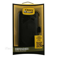 OtterBox Defender Series Case and Holster for HTC Droid Incredible 4G LTE Black